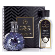 Ashleigh & Burwood Fragrance  Lamp Gift Set - All Because & Fresh Linen Lamp Oil
